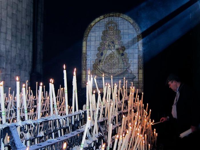 velas virgen candelaria