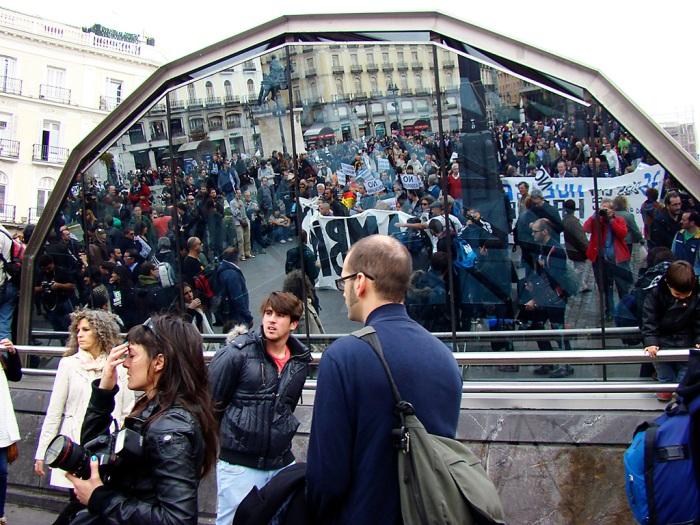 movimiento 15 m marcha atocha puerta sol 13 noviembre 2011